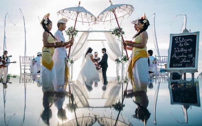 destination wedding bali