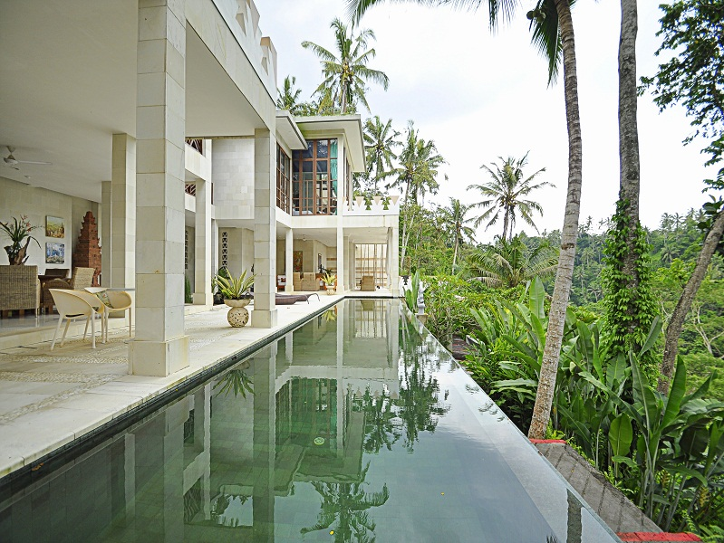 Ubud villas with a private pool